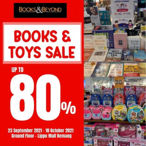 BOOK & TOYS SALE UP TO 80%